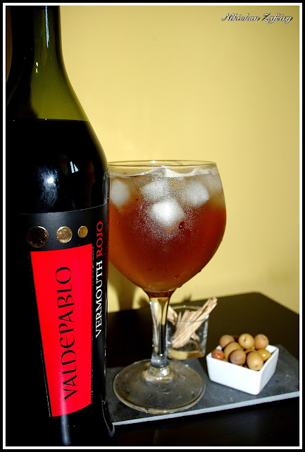 Coctel de Vermouth Rojo