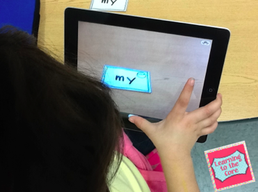 http://dailylearningtothecore.blogspot.com/2014/01/sight-word-practice-on-ipad.html