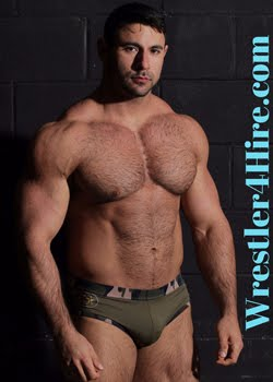Wrestler 4 Hire!