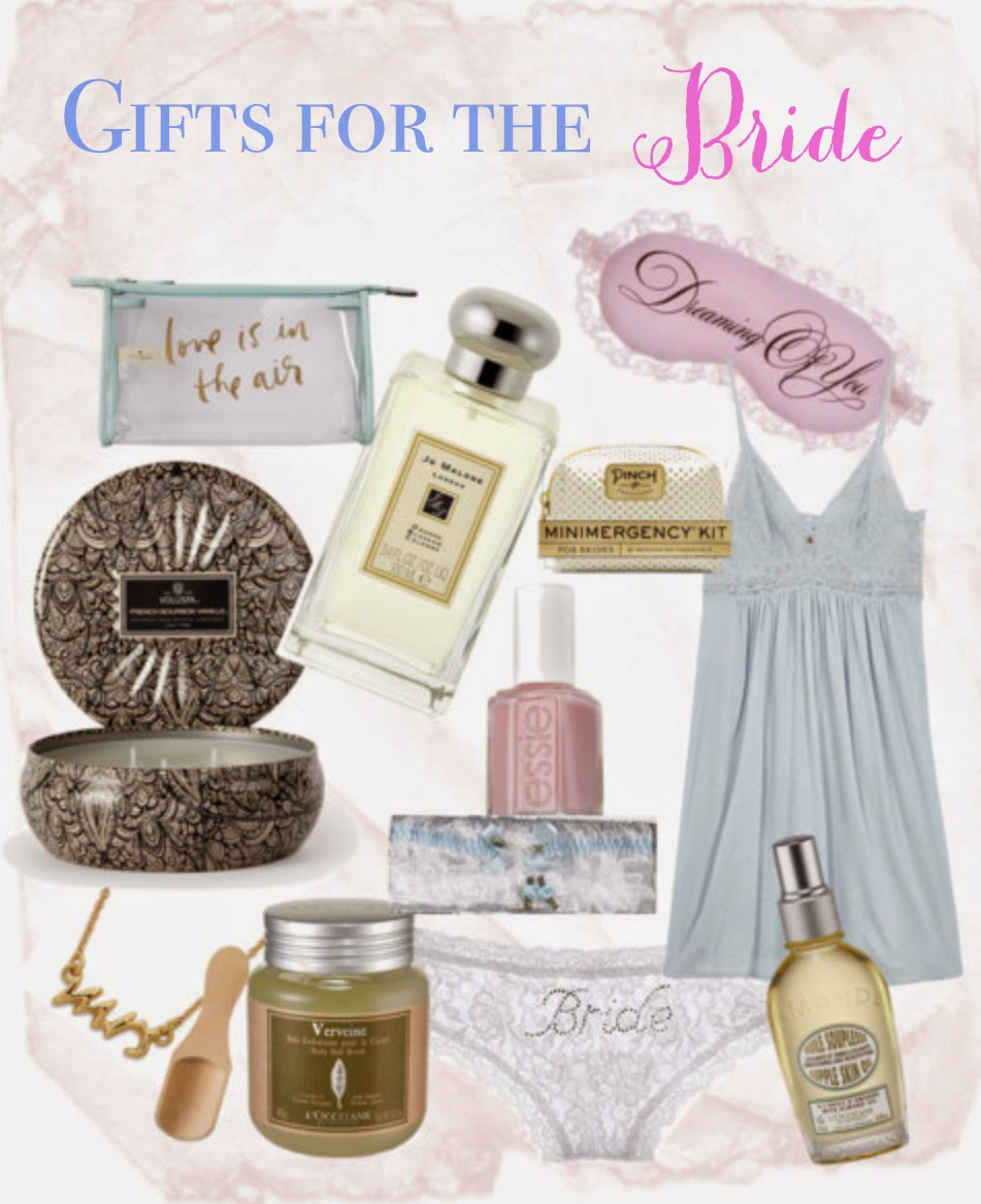 Day Of Wedding Gifts For Bride Suggestions : Bridal Shower Gift ideas for the Bride!