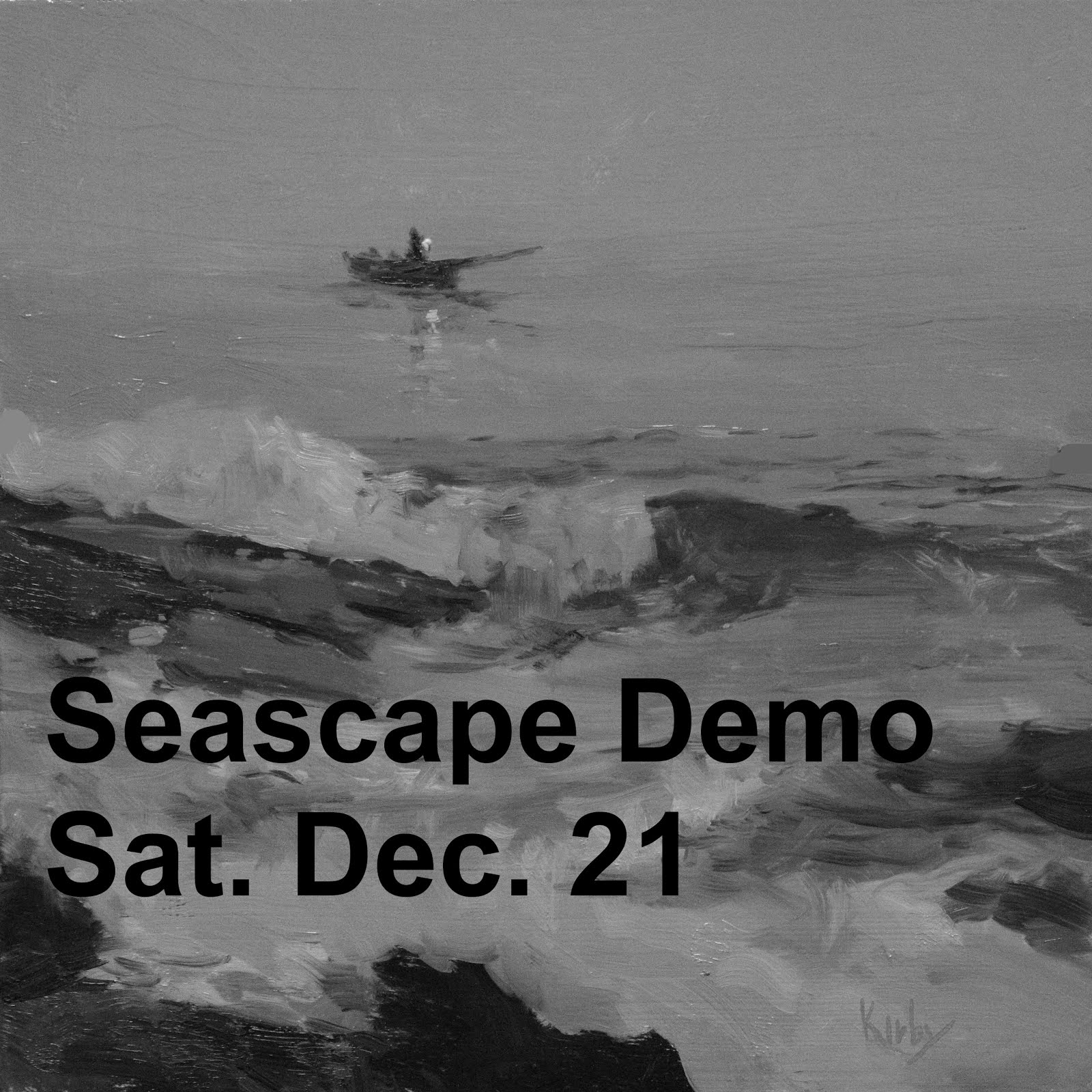 Seascape Demo, Galveston Sat Dec21