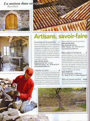 Article dans le magazine maison et travaux batiris - Maison et travaux magazine ...