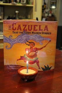 Activity Idea for The Cazuela That the Farm Maiden Stirred by Vamos and López via www.happybirthdayauthor.com