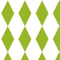 green harlequin paper