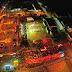 Imagens aéreas do Festival Folclórico
