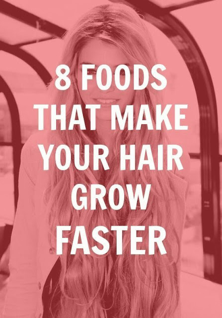 8 Foods That Make Your Hair Grow Faster