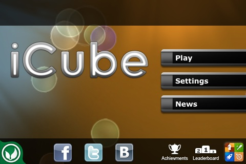iCube Free App Game By UNNYHOG Entertainment