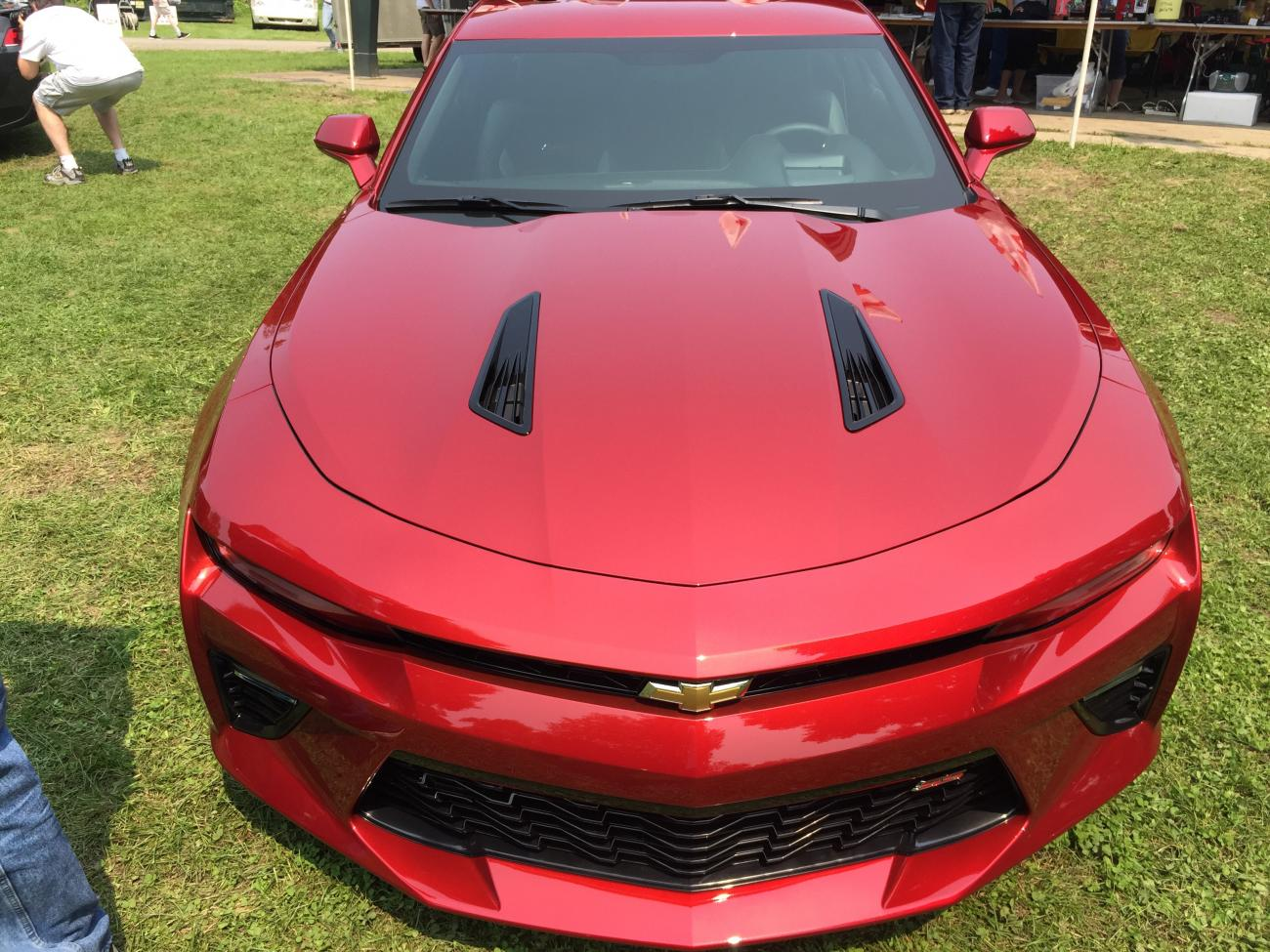 2016 Chevy Camaro Ss Models Spotted Out In The Open W