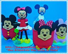 ♥Lembrançinhas Mickey e Minnei♥