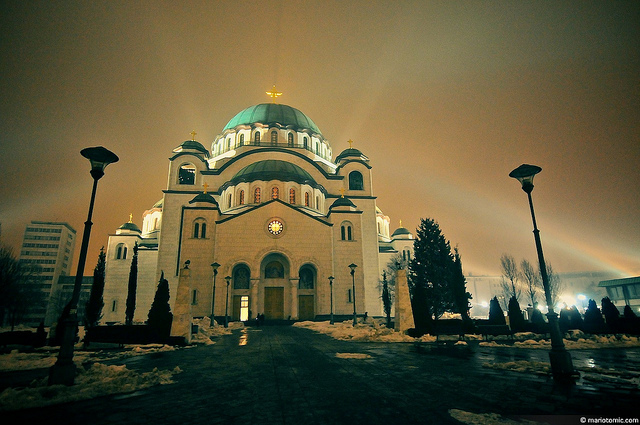 Temple of Saint Sava, Belgrade, Serbia