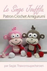 Le Singe Joufflu Patron Crochet Amigurumi