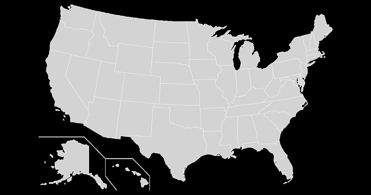 BlankUSMapVectorpng - Blank us map vector