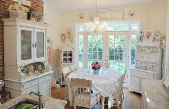 Outdoor kitchen furniture romantic kitchen design with for Romantic kitchen designs
