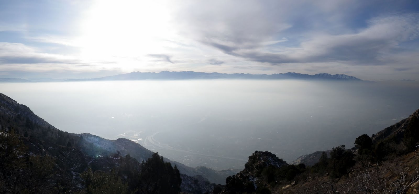 wasatch and beyond: Hiking Mt Olympus in Winter