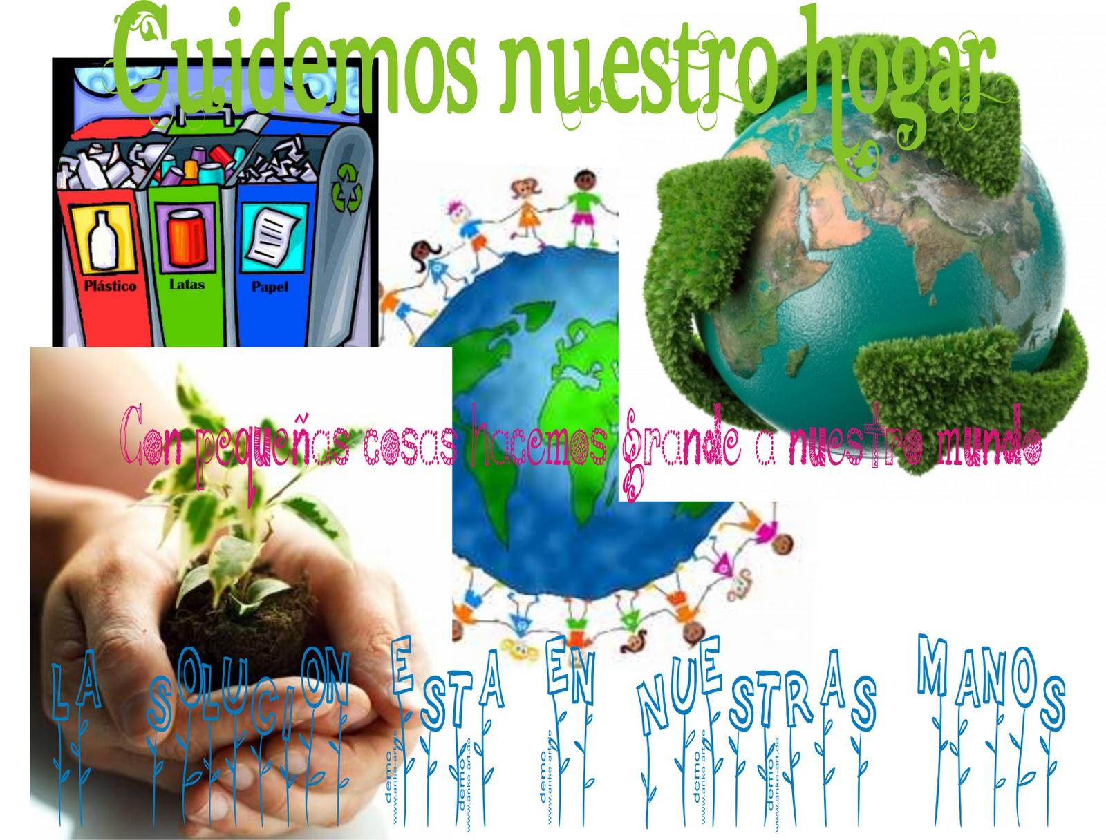 cartel sobre el medio ambiente | Just ¡ ME !