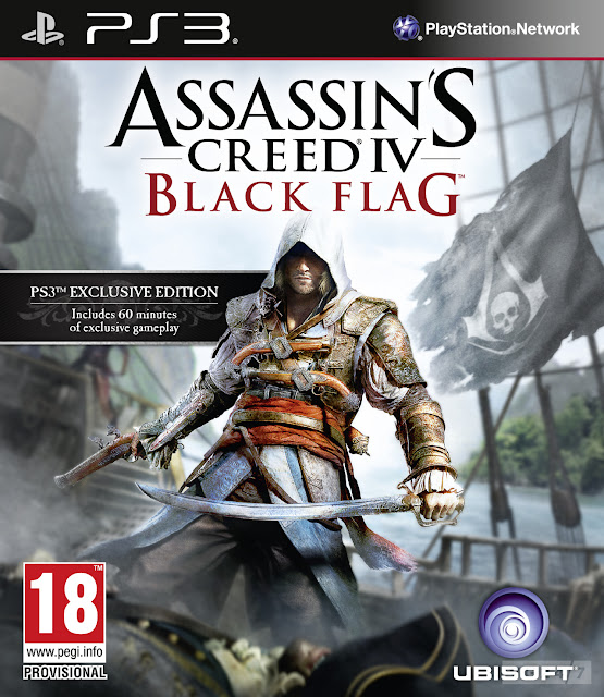 PlayStation 3 Assassin's Creed IV: Black Flag Box Art