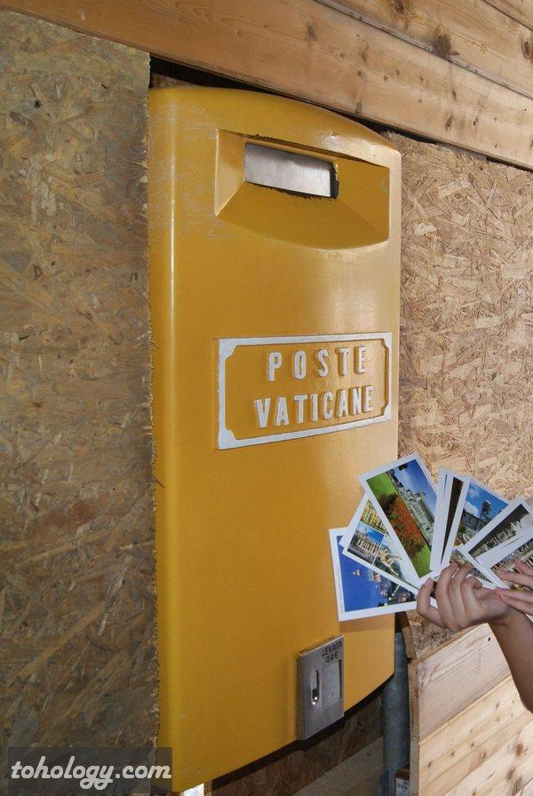 Почтовый ящик в Ватикане