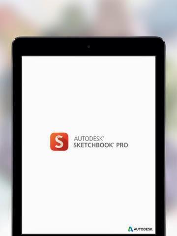 Sketchbook Pro iPad App