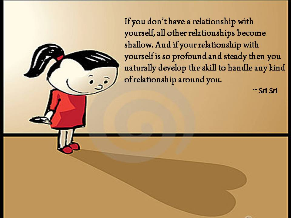 Quotes by sri sri ravi shankar quotes on relationship by for Is space good for a relationship
