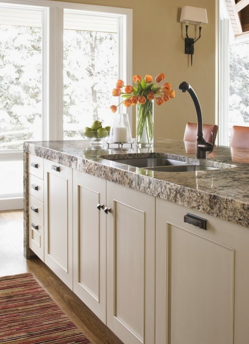 Stone Countertop Materials Options : kitchen countertop materials : granite countertop ideas