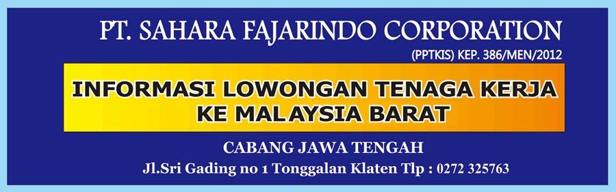 Lowongan Kerja di Malaysia Barat
