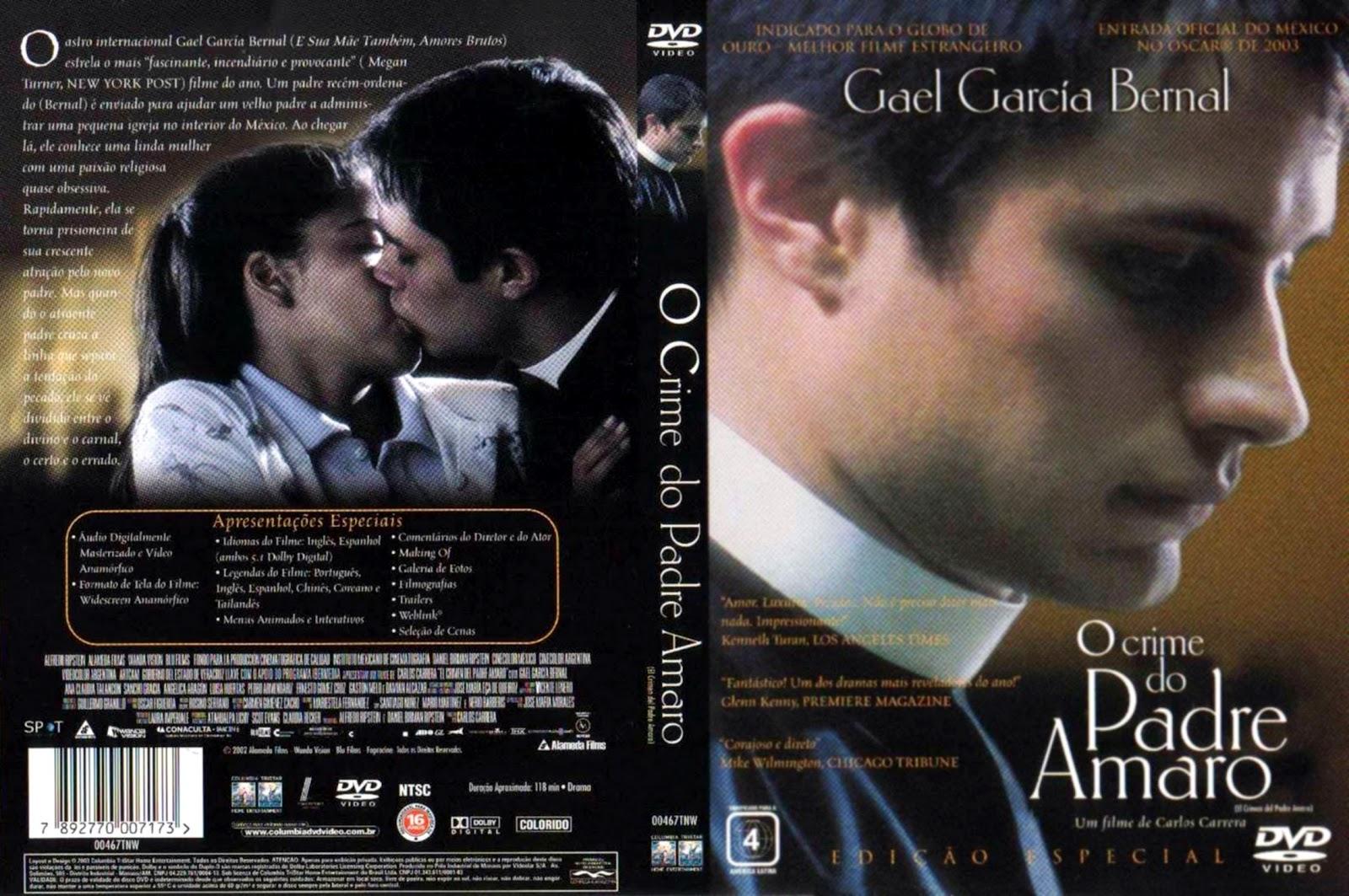 Capa DVD O Crime Do Padre Amaro