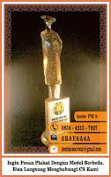 contoh souvenir unik, daftar harga piala, design plakat