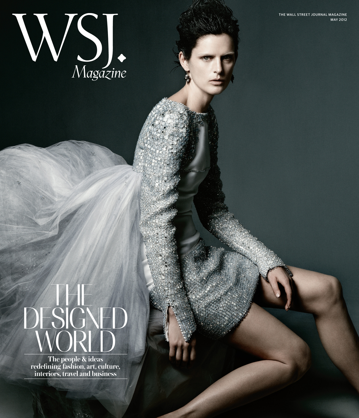 Stella Tennant in WSJ Magazine May 2012 by Daniel Jackson