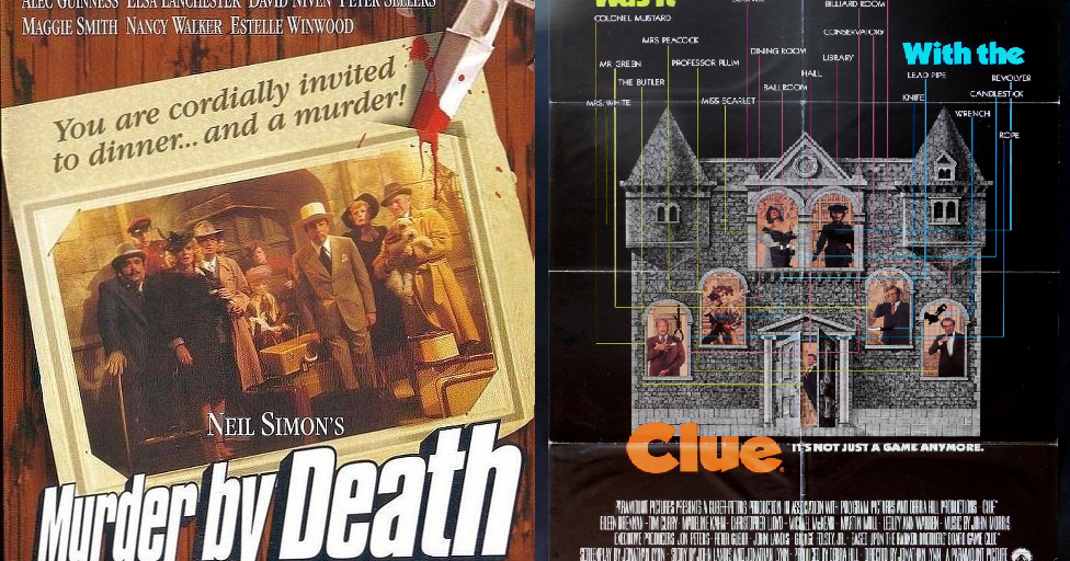Bbc Tv Shows >> Listmaker Reviews: Murder by Death vs. Clue: The Movie