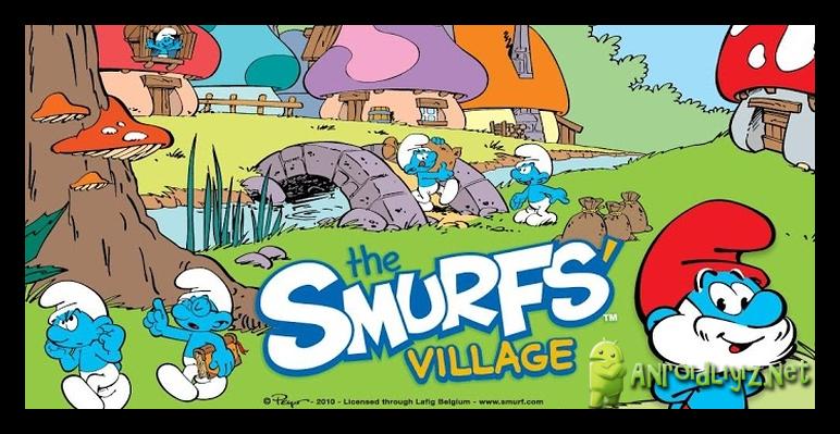 И лучшие игры на андроид village - деревня смурфов, построена. Для скачива