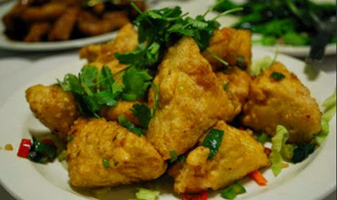 Peppery Tofu Fritters with Herbs