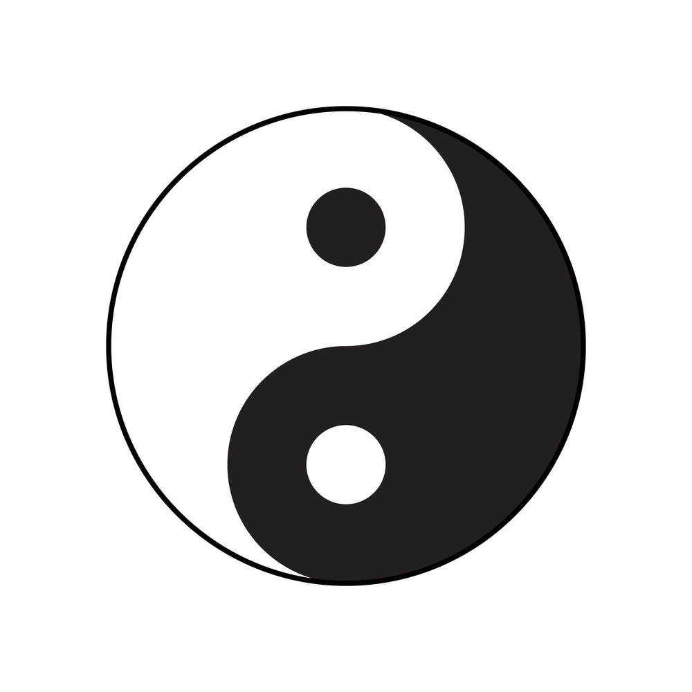 Símbolo del Yin y del Yang (Ley de Polaridad)