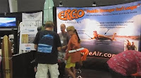 PaddleAir Ergo Booth