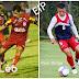 """Irmãos """"Léo e Raul Diogo"""" Brilham no domingão com direito a boa atuação e gol no fim do jogo!"""
