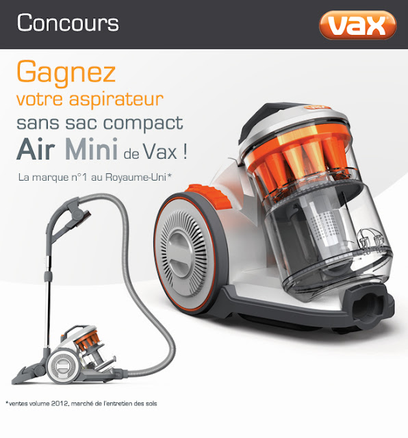 16 aspirateurs sans sac compact Air Mini Vax