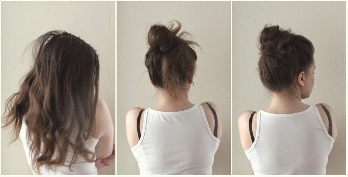 håret går av på mitten