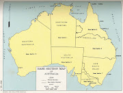 Australia Political Map Pictures . Map of Australia Region Political (australia political map picture)