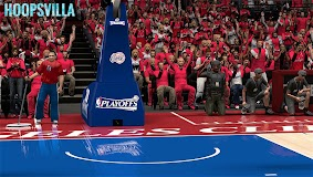 NBA 2k14 Stadium Mod : Playoff Edition - Los Angeles Clippers - Staples Center