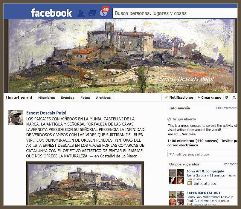 FACEBOOK-GRUPOS-CABECERAS-PINTURA-HEADER-GRUPO-THE ART WORLD-PINTOR-ERNEST DESCALS