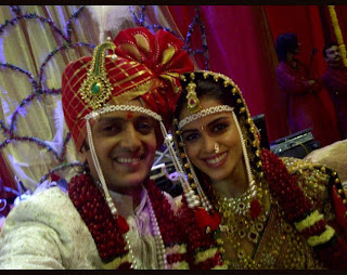 Ritesh and Genelia Marriage Pics