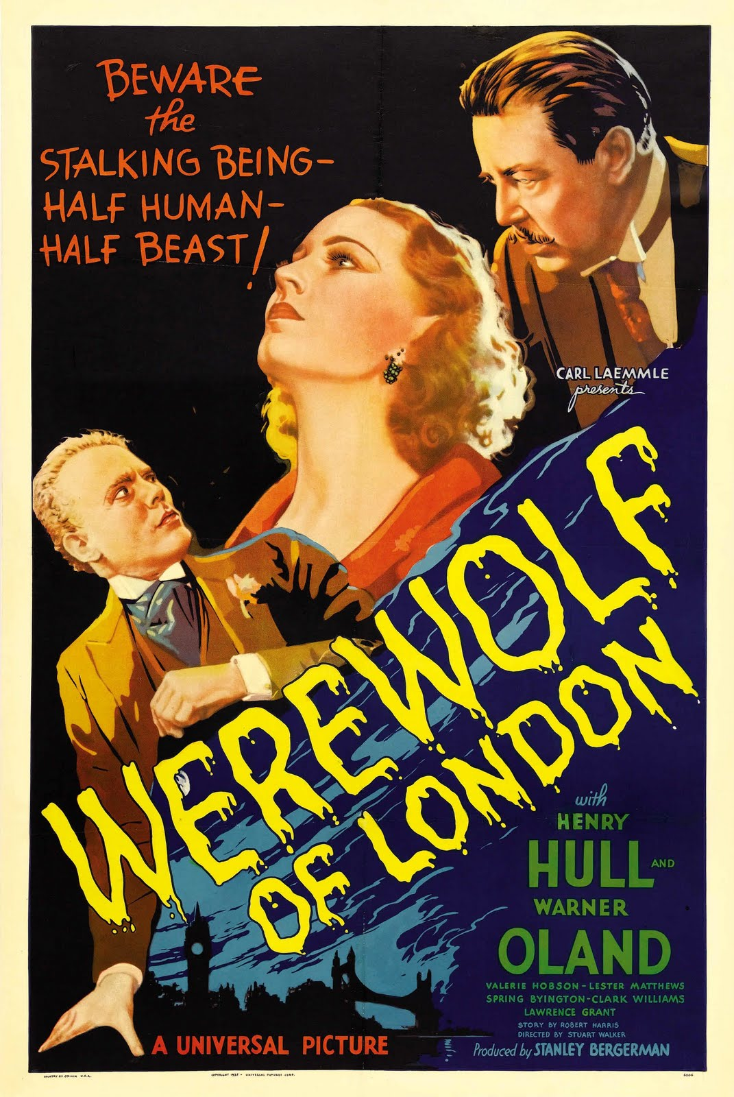 El lobo humano (El hombre lobo de Londres) (1935)