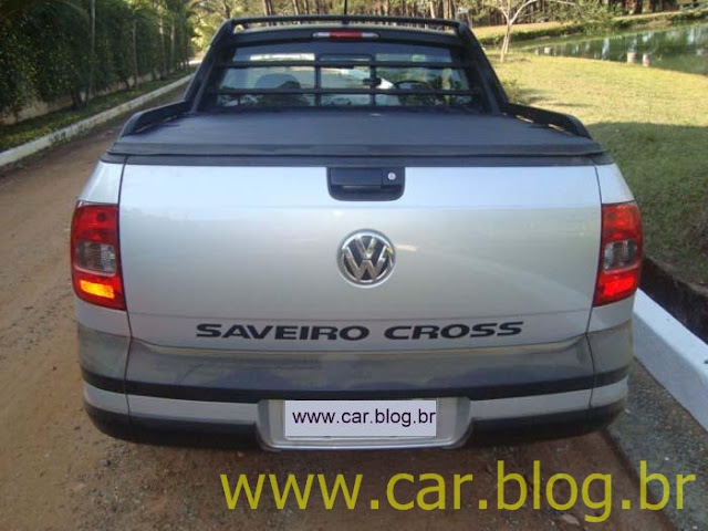 Nova Saveiro Cross CE 2012 -traseira