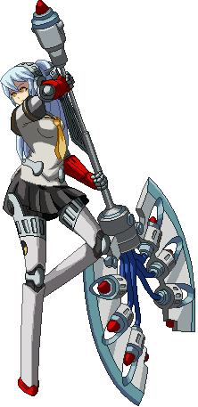 Download all of Shadow Labrys sprites here Persona Labrys Sprite