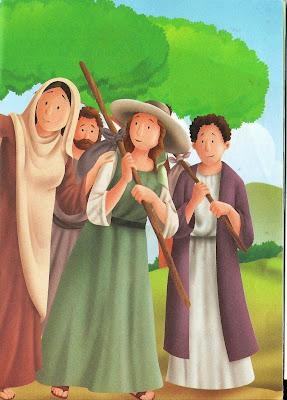 História bíblica - Rute e Noemi
