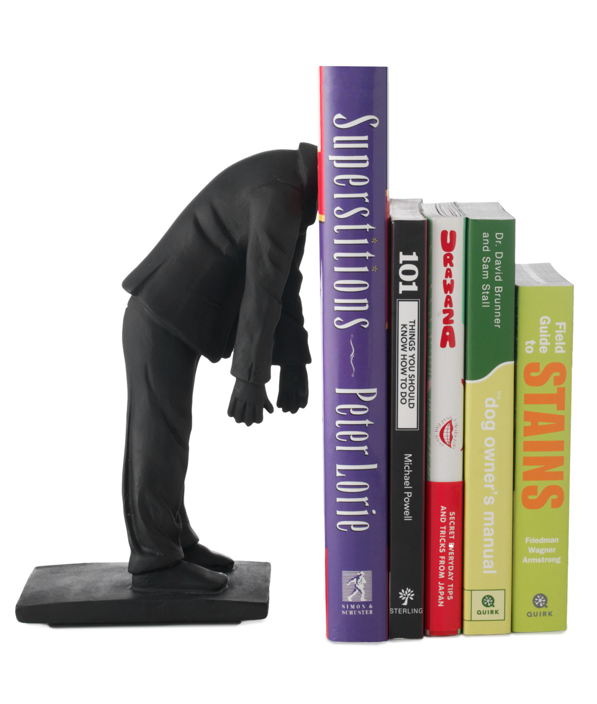 Real Bookworm Bookend