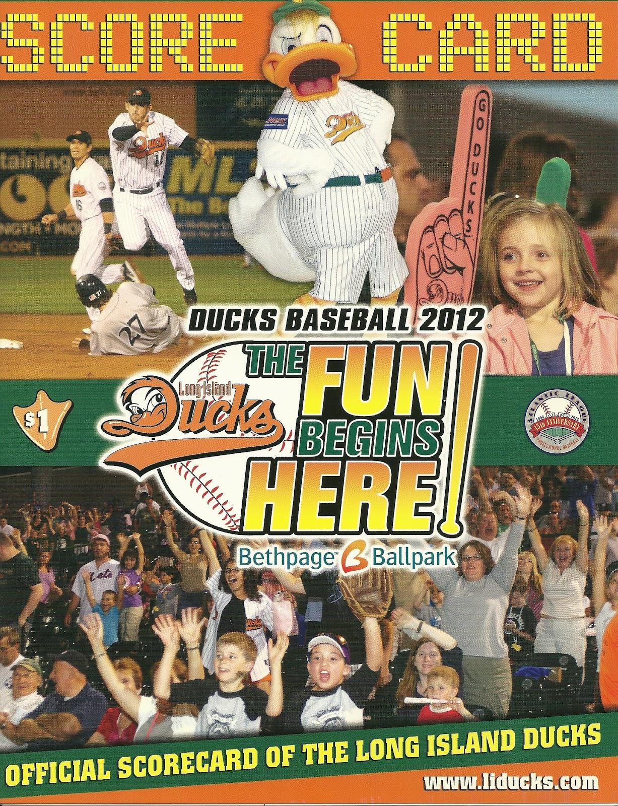 Long Island Ducks Game Score