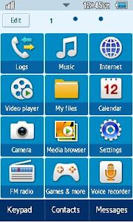 GT-C6712 Default Samsung Themes Free Download Menus