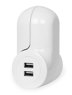 Pivot Power USB in closed position