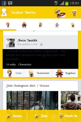 Facebook Mod Naruto, facebook naruto, naruto