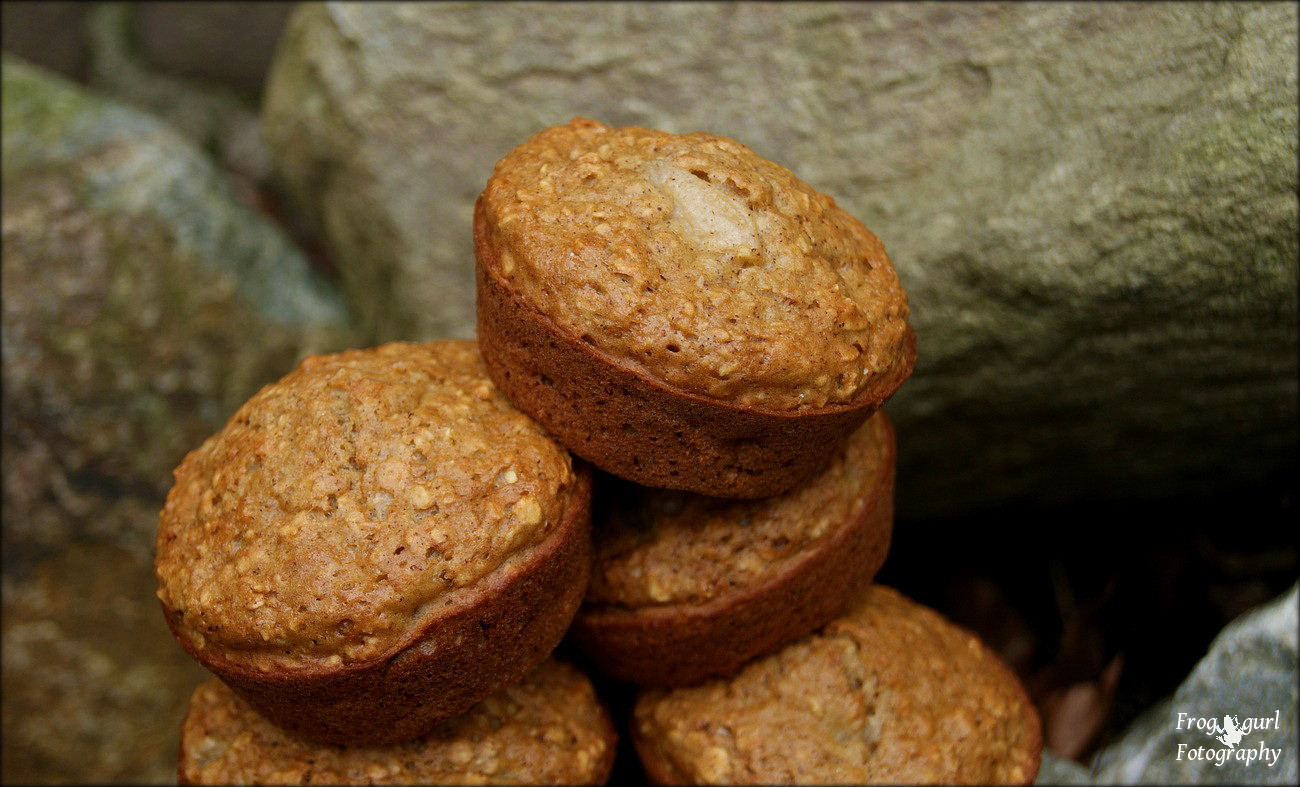 Home Cooking with Sonya: Applesauce Oatmeal Muffins
